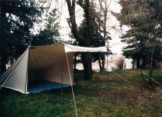 beckel canvas tent