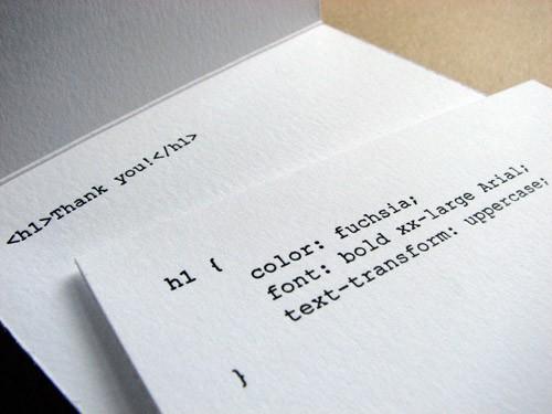 css html letterpress greeting card sunshinedesign - Letterpress Greeting Cards