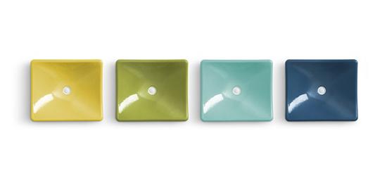 Colorful kitchen sink sunshine design - Jonathan adler sink ...