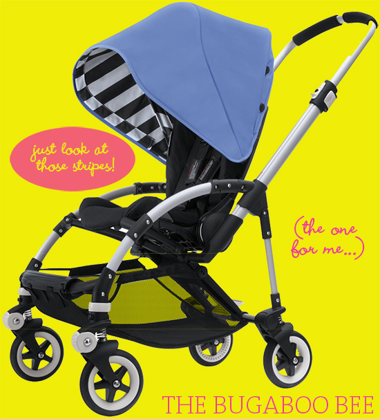 bugaboo-bee-limited-edition-stroller-black-white-stripes-yllwbackgrnd